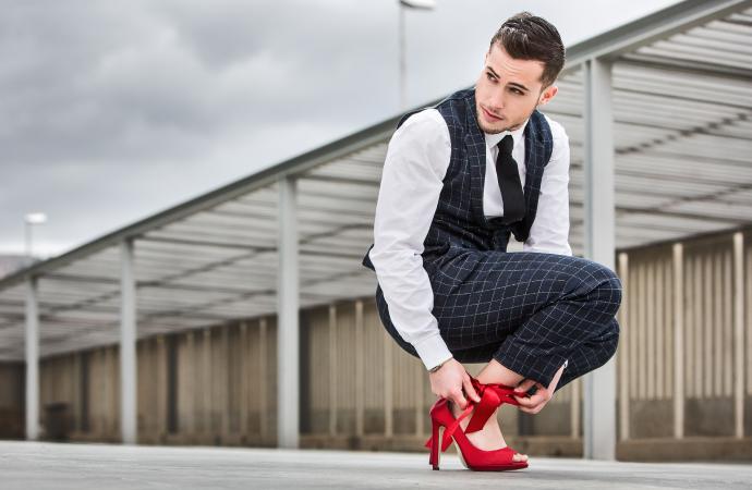 Men stilettos, Large Size High Heels